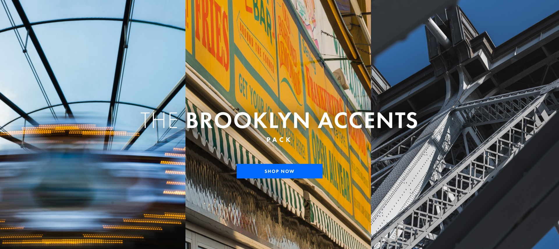 The Brooklyn Accents Pack - Shop Now